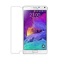 billige -Screen Protector - Eksplosjonssikkert herdet glass - Samsung Galaxy Note 4