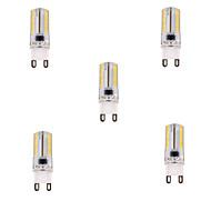 tanie Więcej Kupujesz, Więcej Oszczędzasz-YWXLIGHT® 5szt 450 lm G9 Żarówki LED kukurydza T 80 Koraliki LED SMD 3014 Przysłonięcia Ciepła biel / Zimna biel 220-240 V / 5 sztuk