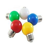 E26/E27 LED-globepærer 1 leds SMD 5730 Kjølig hvit Rød Blå Gul Grønn 24lm 5000-7500K AC 220-240V