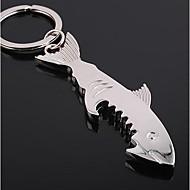 Shark Shaped Bottle Opener Keychain