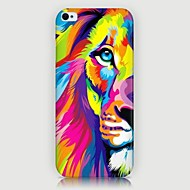 iphone 7プラスのiPhone5 / 5S用のカラフルなライオンのパターンバックケース