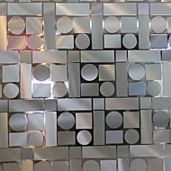 baratos Películas e Adesivos de Janela-Geométrica Moderna Película para Vidros, PVC/Vinil Material Decoração de janela Sala de Jantar Quarto Sala de Estar Cozinha