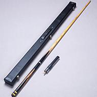 3/4 Jointed Handmade ebony  snooker/Pool Cue LP  billiard cue+Cue Case