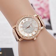 yoonheel Dame Armbåndsur designere / Imiteret Diamant / schweizisk Metal Bånd Vedhæng / Mode / Simuleret Diamond Watch Rose Guld / Et år / SODA AG4