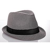 panamski šešir stilski pamuk za muškarce (crno i bijelo) elegantan stil