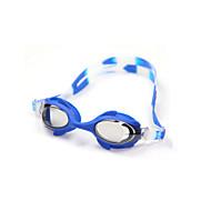 משקפי שחייה לילדים נגד ערפל / עמיד למים / גודל מתכוונן / אנטי-UV / רפידות צד מתכווננות / רצועה נגד החלקה סיליקה ג'ל PC צהוב / כחול / כתום