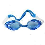 billiga Swim Goggles-Simglasögon Vattentät / Justerbar storlek Plast Plast Mörkblå Genomskinlig