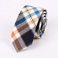 tanie Akcesoria dla mężczyzn-Męskie Kratka Na co dzień Krawat Pled