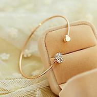 billiga Bröllops- och festsmycken-Dam Vit - Manschett, Klassisk Armband Till Party Födelsedag