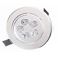 ledet downlights 5 høyt ledd 450-550lm varm hvit naturlig hvit dekorativ AC 85-265v
