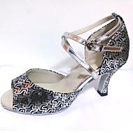Shoes Women's Dance Shoes Sparkling Glitter Latin Salsa Shoe Customizable