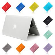 Toque de plástico 2 em 1 cores doces macio tampa caso difícil& tampa do teclado para Apple MacBook Air 13 '' (cores sortidas)