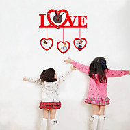 DIY 3d kjærlighet veggur