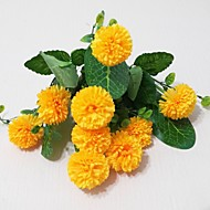 Umjetna Cvijeće 1 Podružnica Moderna Hrizantema Cvjeće za stol