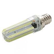 billige Kornpærer med LED-E12 LED-kornpærer T 152 leds SMD 3014 Mulighet for demping Varm hvit Kjølig hvit 450lm 2800-3200/6000-6500K AC 220-240 AC 110-130V