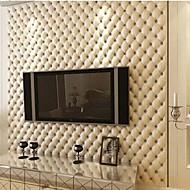 Art Deco Tapet til Hjemmet Moderne Tapetsering , PVC/Vinyl Materiale selvklebende nødvendig bakgrunns , Tapet