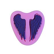 Pečení silikonové andělská křídla fondán forma dort dekorace plísně