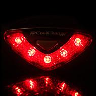 Sykkellykter Baklys til sykkel sikkerhet lys LED Lyspærer LED - Sykling Vanntett Enkel å bære AAA 50-100 Lumens Batteri Sykling-CoolChange