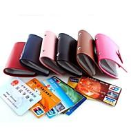 Χαμηλού Κόστους Card & ID Holder-Unisex Τσάντες Όλες οι εποχές PU Θήκη για κάρτα & ταυτότητα για Επαγγελματική χρήση Χρώμα Οθόνης