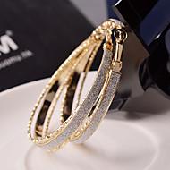 ieftine -Pentru femei Cercei Rotunzi  Bijuterii Statement Festival/Sărbătoare de Mireasă costum de bijuterii Aliaj Circle Shape Bijuterii Pentru