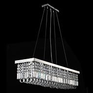 billige Bestelgere-8-Light Anheng Lys Nedlys galvanisert Metall Krystall, LED 110-120V / 220-240V Varm Hvit / Kald Hvit Pære ikke Inkludert / E12 / E14