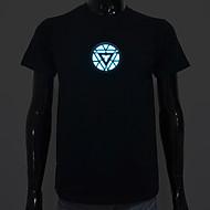 led t-shirts lyd aktiveret ledet lys bomuld nyhed høj kvalitet