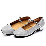 billige Moderne sko-Dame Moderne sko Velourisert Flate / Sandaler Gummi Lav hæl Kan ikke spesialtilpasses Dansesko Sølv / Gull / Trening / Profesjonell