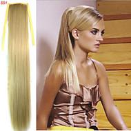 Queue-de-cheval Cheveux Synthétiques Pièce de cheveux Extension des cheveux Droit / Droite