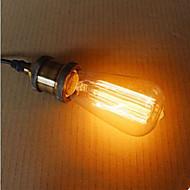 billige Glødelampe-st58 60w retro industri glødelampe edison stil høy kvalitet