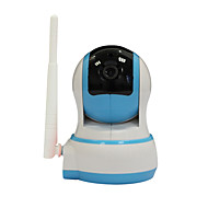 ip kamera wifi hd 720p 1.0mp toveis lyd babymonitor p2p ir TF kort posten trådløs sikkerhet hjemme alarm video IPCAM