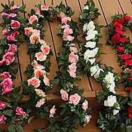hesapli -1 şube Plastik Güller Masaüstü Çiçeği Yapay Çiçekler