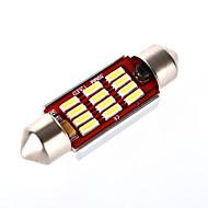 39mm Araba Ampul 6 W SMD LED 540 lm 12 İç Işıklar
