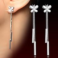 Dames Druppel oorbellen Sterling zilver oorbellen Dames Sieraden Zilver Voor Bruiloft Dagelijks Causaal Sport Maskerade Verlovingsfeest