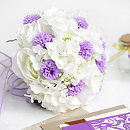 Silke / Polyester / Plastikk Roser Kunstige blomster