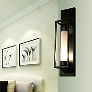 LED Vegglamper,Rustikk E26/E27 Metall