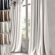 Un Panou Tratamentul fereastră Țara Modern Mediteranean Baroc European Designer  , Mată Sufragerie In Material perdele, draperiiPagina de
