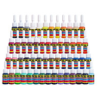 Tintas solong tatuagem 54 cores set 5ml / bottle tattoo pigment kit