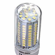 YWXLight® 6W E14 G9 GU10 B22 E26/E27 LED Corn Lights 102 SMD 2835 500 lm Warm White Cold White Decorative AC 220-240 V