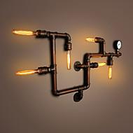 tanie Kinkiety Ścienne-Wiejski Lampy ścienne Na Metal Światło ścienne 110-120V 220-240V Max 60WW