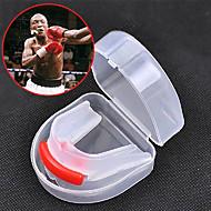 Ochrana zubů Taekwondo Sanda Muay Thai Box Karate Přenosný Multifunkční Dvoustranný Ochranné pomůcky Silica gel Struhadlo-