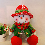זול עיצוב-שלג סנטה קלאוס קישוט חג המולד המקורה מתנת חג המולד איילים ממתקי חג מיכל אחסון כדורי יכולים תיבה