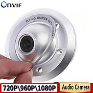 1080p \ 960p \ 720p ip kamera ufo kamera 2.8mm vidvinkel innendørs overvåkningskamera metall tilfelle høy kvalitet støtte henting
