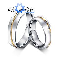 Žene Klasično prstenje Moda Kubični Zirconia Čelik Jewelry Party