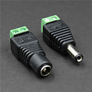 preiswerte Stromquellen-weiblich + männlich Gleichstromanschluss für die Videoüberwachung (Paar / DC 12V)