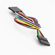 Dupont 8-Pin 2.54mm Female to Female Extension Wire Cable for Arduino-(20CM)