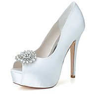 cheap High-end Wedding Shoes-Women's Wedding Shoes Peep Toe Sandals Wedding / Party & Evening Wedding Shoes More Colors available