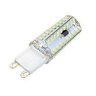 baratos Luzes LED de Dois Pinos-600-700 lm G9 Luminárias de LED  Duplo-Pin Encaixe Embutido 72 leds SMD 3014 Regulável Decorativa Branco Quente Branco Frio AC 220-240V