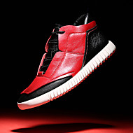 Men's Shoes Wedding / Outdoor / Office & Career / Party & Evening / Casual Synthetic / Fashion Sneakers Black / Red