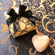 Heart Scented White Soap Wedding Favor