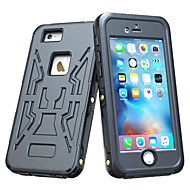 billiga Mobil cases & Skärmskydd-fodral Till iPhone 6s Plus iPhone 6 Plus iPhone 6s iPhone 6 iPhone 6 iPhone 6 Plus Vattenavvisande Stötsäker Fodral Enfärgad Hårt PC för